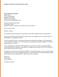 Informationchnology Cover Letter Examples Entry Level Resume