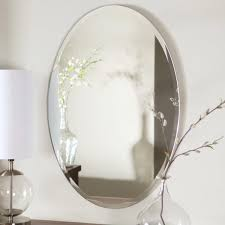 oval mirror frame. Pretty Frame Oval Mirror Bathroom Good Awesome Transparant Tempered Glass High Quality Material