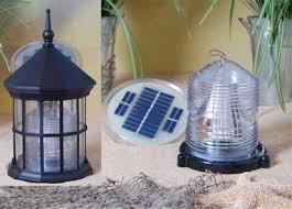 Lawn Lighthouse Solar Beacons  The Lighthouse ManGarden Solar Lights For Sale