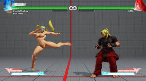 Street Fighter V Nude Mods Add R. Mika and Laura