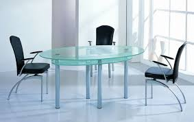 oval glass dining table. tables perfect dining table set modern in oval glass top