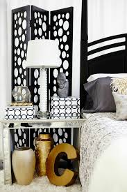 Black White And Gold Bedroom Ideas 2