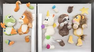 A wildly fun system of magnetic stuffed animals for kids. Mix & make  endless combinations
