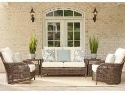 Havana Wicker Outdoor Furniture Lloyd Flanders Lounge Set Lfhvnalngset2