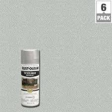 metallic paint home depot. protective enamel silver textured metallic spray paint (6-pack) home depot