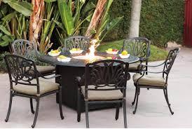 round patio table seats 6 designs