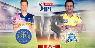 Live cricket scores is a light weight version website built for mobile so that users who love cricket, whether that be in india, england, pakistan or anywhere else in the world can enjoy live updates for. Chennai Super Kings Vs Rajasthan Royals Ipl 2020 Live Cricket Score Match Today News Updates