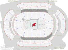 Verizon Center Seating Chart For Hockey Prudential Center Newark Arena Seat And Row Numbers Detailed