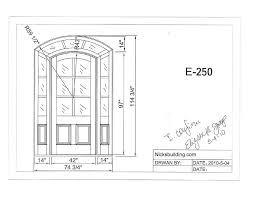 garage door drawing custom door cad drawing