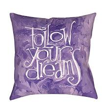 Pillow Quotes Extraordinary Purple White 48 Inches Quote Throw Pillow Quotes Sayings Pattern