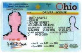 Ohio Ohio Drivers Liscence Drivers