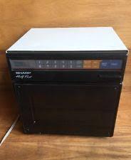 sharp half pint microwave oven. sharp half pint microwave oven r-4260 black japan 400w small mini compact sharp half pint microwave oven o