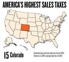 7 125 Sales Tax Chart Slideshow Americas Highest Sales Taxes Sacramento