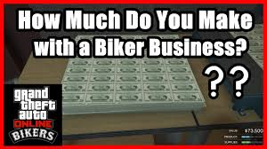 Gta 5 Biker Business Payout Chart Gta 5 How Much Does Your Biker Business Make