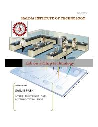 Lab On A Chip Report On Lab On A Chip