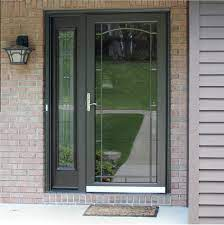 custom aluminum storm doors with