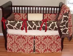 sweet cherry giraffe baby bedding