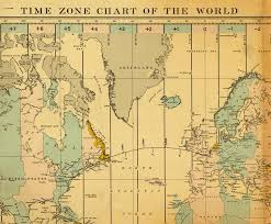 Time Zone Chart Of The World World Digital Library