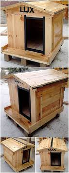 How Can We Reuse Wasted Wood Pallets. pallet dog house plan