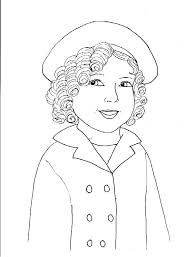 Small Picture Shirley Temple Coloring Pages