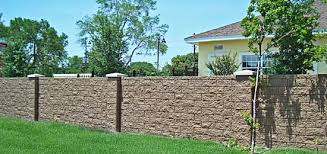 Small Picture Concrete Block Wall AFTEC concrete fence forming