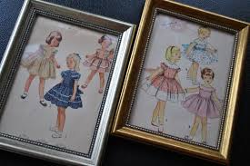 vintage sewing pattern wall art on wall art for craft room with 12 cute craft room decor ideas lifestyle
