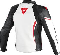 dainese assen leather jacket perforated clothing jackets motorcycle white black red dainese underwear