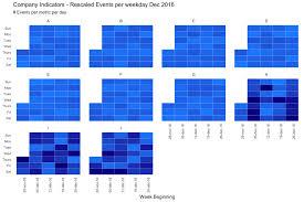 Event Calendar Cool 44 Calendar Heatmap The R Graph Gallery