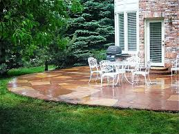 ... Wonderful Exterior Garden Decoration Design In Outdoor Patio Flooring  Ideas : Appealing Exterior Garden Decoration Design ...