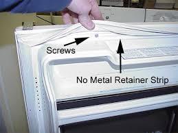 refrigerator door gasket. doorseal2.jpg (59510 bytes) refrigerator door gasket