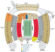 Carolina Panthers Seating Chart With Rows Nfl Stadium Seating Charts Stadiums Of Pro Football