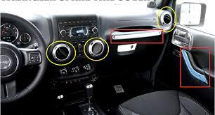 jeep wrangler 2015 2 door. car interior decoration trim 7pcs for jeep wrangler 2007 2008 2009 2010 2011 2012 2013 2014 2015 2 door in mouldings from automobiles