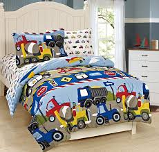 33 fresh ideas tractor duvet cover set com mk collection twin size trucks tractors cars kids boys 5 pc comforter and sheet blue red yellow new home