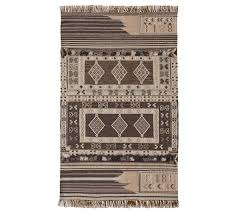 isaac synthetic kilim indoor outdoor rug neutral multi