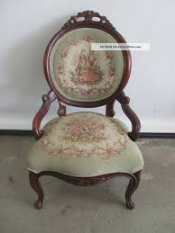 antique victorian pelham shell leckie parlor chair accent chair solid wood