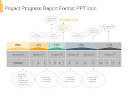 Project Progress Report Sample Project Progress Report Format Ppt Icon Powerpoint Templates