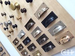 furniture handles and knobs. sexy brass, bronze, nickel or chrome cup handles drawer pulls and also cupboard door knobs in various sizes. handmade hand finished britain just furniture d
