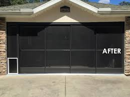 screened in garage doorSpecialized Aluminum Products AJs Aluminum Inc Springhill FL