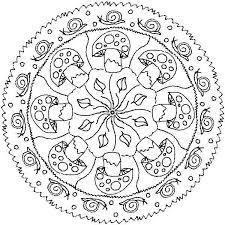 Mandala Invernale Mandala Bambini