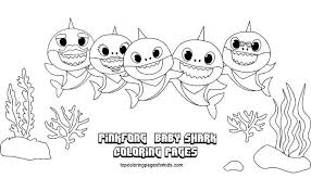 Baby shark pinkfong coloring pages is the first book to take fans behind the scenes of the groundbreaking and boundlessly a nursery song about a family of sharks. 12 Free Printable Baby Shark Coloring Pages For Kids By Topcoloringpagesforkids Medium