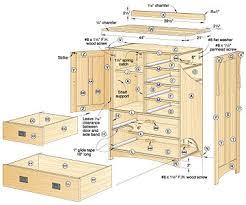 Bedroom Dresser Blueprints Bedroom Dresser Plans Free
