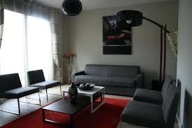 Trendy Dco Maison Rouge Et Gris Awesome Deco Salon Blanc Gris Rouge  Ridgewayng With Deco Salon