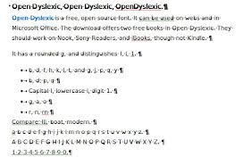 Resume Text Size Magnificent Typefaces For Dyslexia BDA Technology