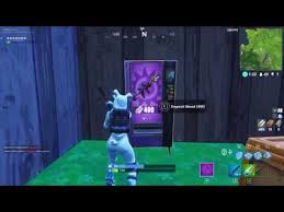 Breaking A Vending Machine Mesmerizing Breaking A Vending Machine In Fortnite YouTube