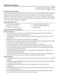 Medical Administrative Assistant Resume Sevte