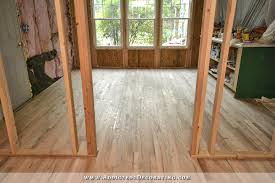 hardwood flooring installed in breakfast room and pantry