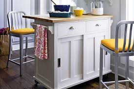 Small Picture More Functional With Movable Kitchen Island Kitchen Bath Ideas