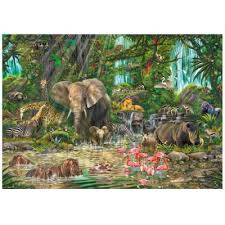 wooden puzzle african experience wentworth 751906 250 pieces jigsaw puzzles wild animals jigsaw puzzle