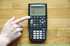 image titled find the minimum and maximum points using a graphing calculator step 1