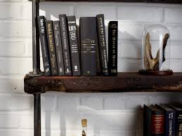 Industrial Bookcase Diy Industrial Rustic Bookshelf Hgtv